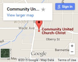 Google Map to Community UCC Raleigh
