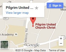 Google Map to Pilgrim UCC Durham